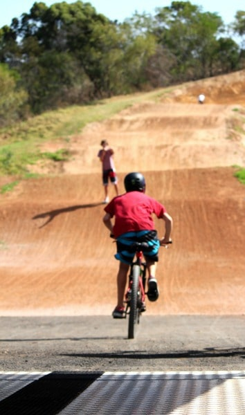 1 BMX Bike track Terry Hills 8