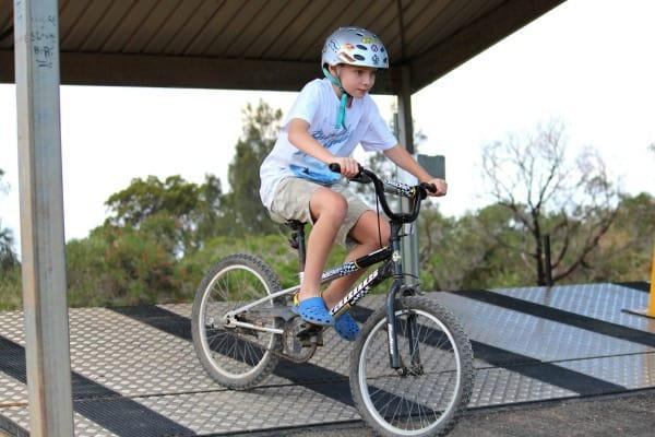 1 BMX Bike Track  Terry Hills