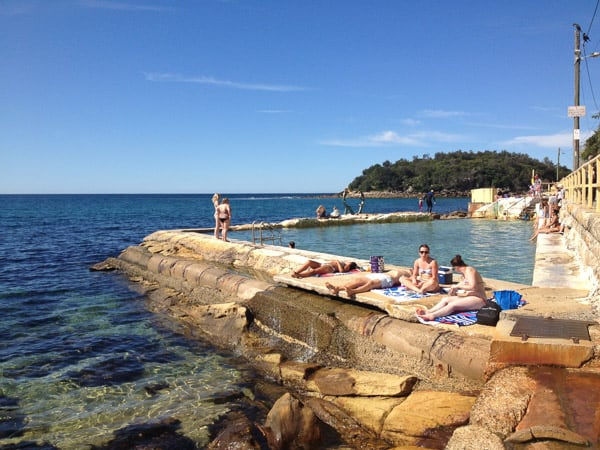 Fairy Bower Manly- rock pools
