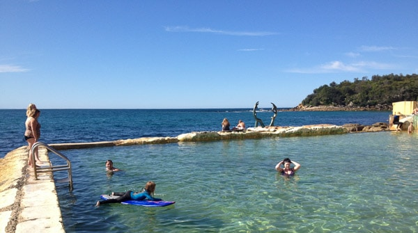 Fairy Bower Manly rock pool