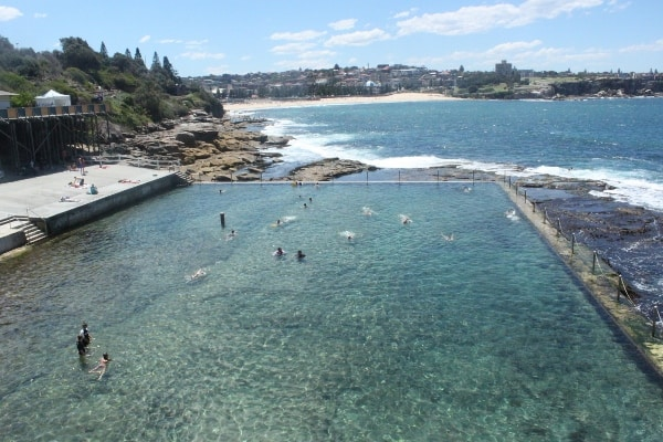 Wylies Baths coogee sydney family