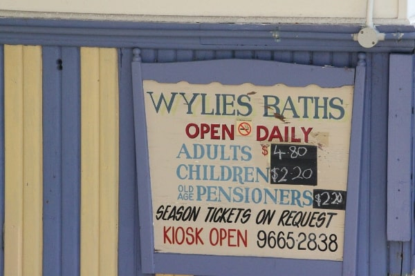 Wylies baths Coogee family review