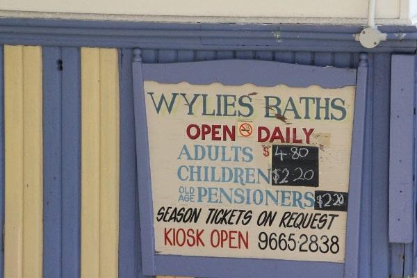 Wylies bath Coogee