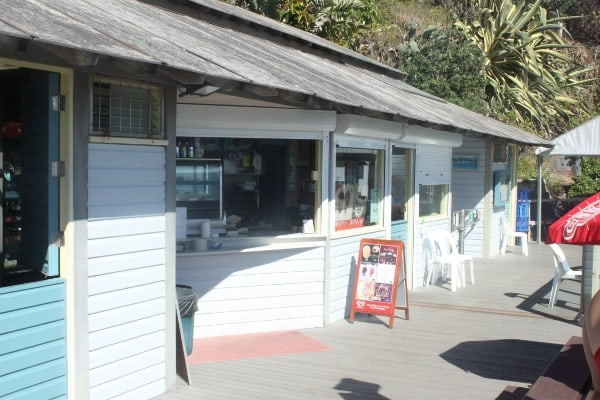 kiosk at Wylies Baths coogee sydney family