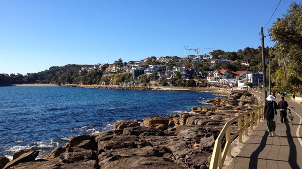 Manly to Shelly walkway