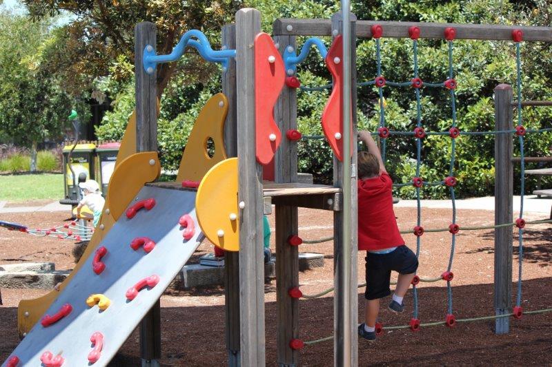 Centennial Park Restaurant Playground