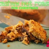 Easy Cashew + Mushroom Nut Roast - For A Vegetarian Christmas