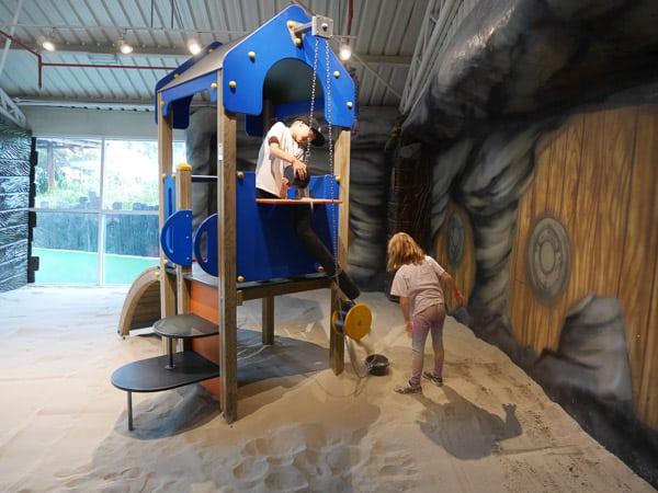 Jumeirah kids club sand play sinbads