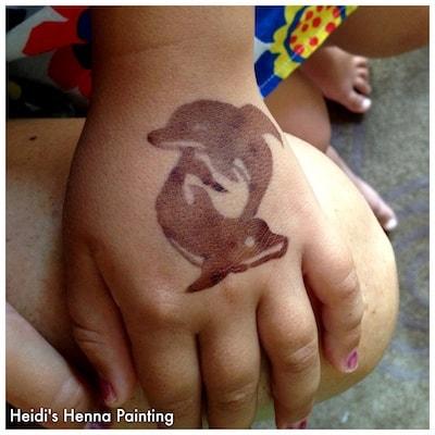 Henna painting (1)
