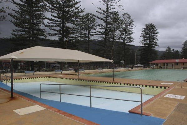 Thirroul Olympic Pool toddler pool