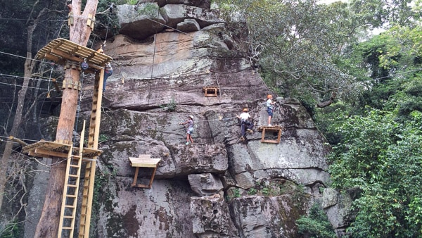 Trees Adventure Nowra – A Trees and Cliffs High Ropes Family Adventure