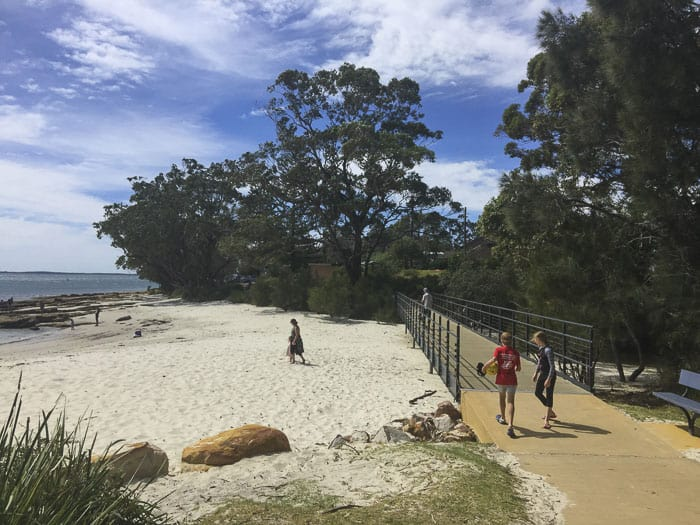 white sands walk collingwood beach
