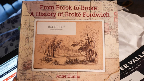 Broke Fordwich history book