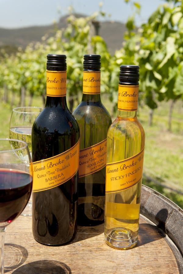 Mount Broke Wines Hunter Valley