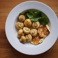Easy Baked Mushrooms With Ricotta Omelettes - A Superfoods Breakfast