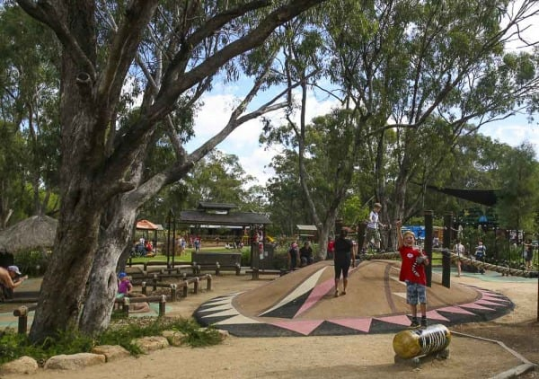 Playground at Dubbo Western Plains Zoo