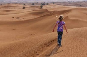 A Desert Safari  – Dubai Stopovers With Kids