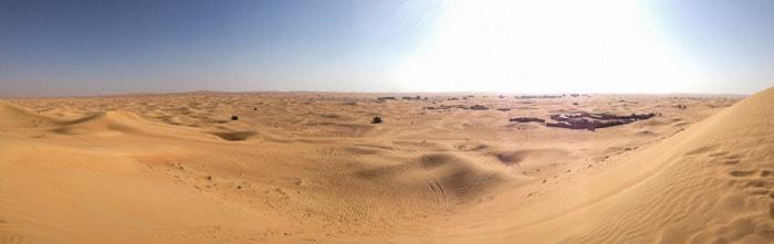 Dubai Sandboard Camel Riding Tour-1