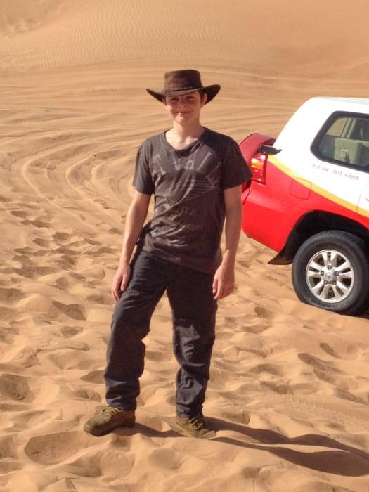 Dubai Sandboard Camel Riding Tour-3