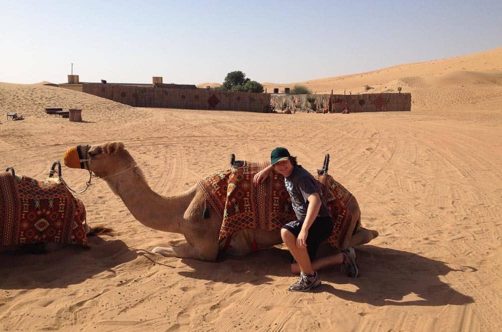 Dubai Sandboard Camel Riding Tour-5