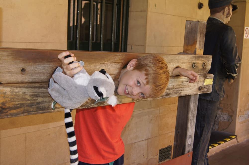Dubbo Gaol, the stocks
