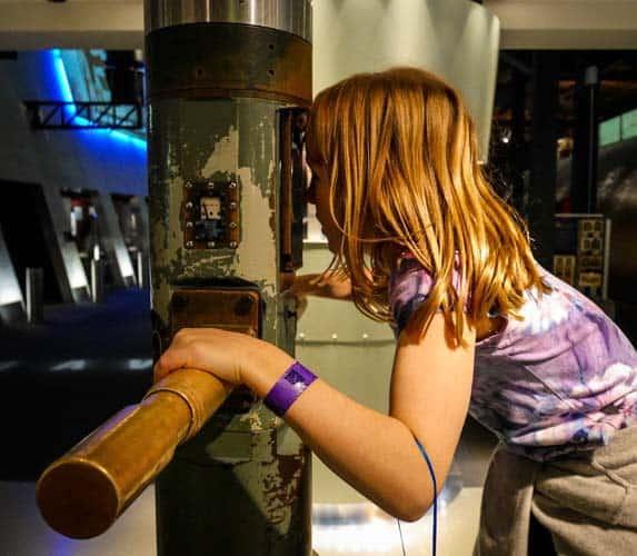 ANMM Australian National Maritime Museum periscope