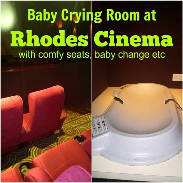 Crying Room at Reading Cinema Rhodes