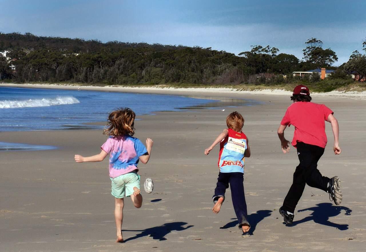 Collingwood beach Jervis Bay