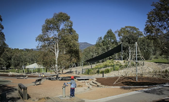 Canberra parks Playgrounds