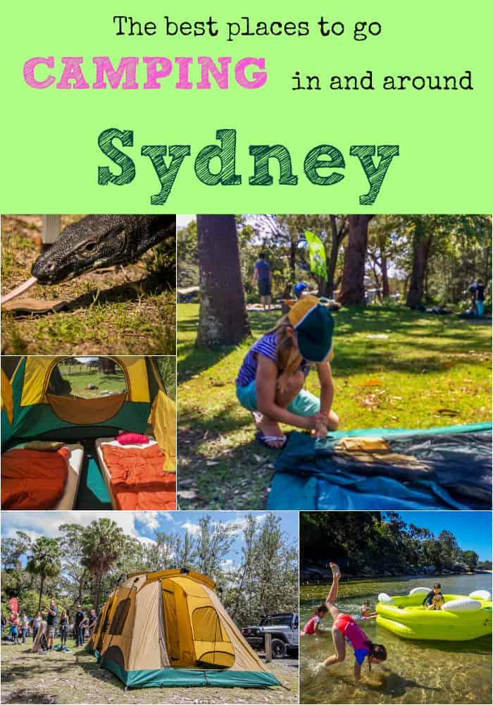 Best Sydney camping