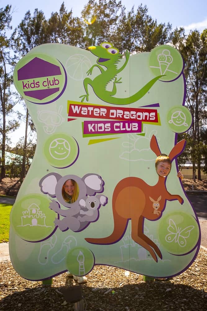 Crowne Plaza Hunter Valley Kids Club Water Dragons