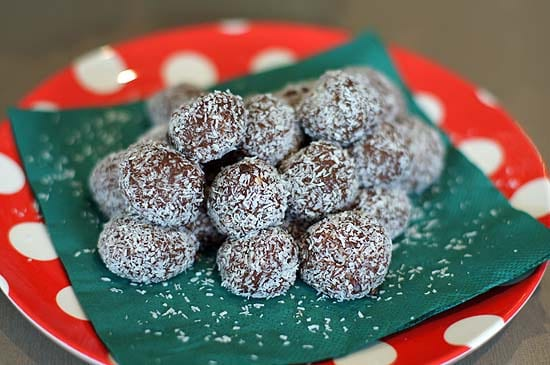 Christmas Condensed Milk Truffles – Made By The Kids