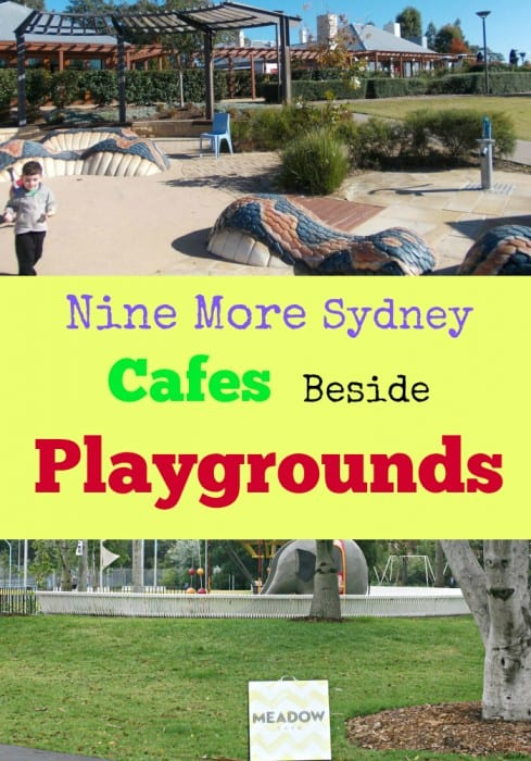 Cafes Beside Playgrounds pinterest