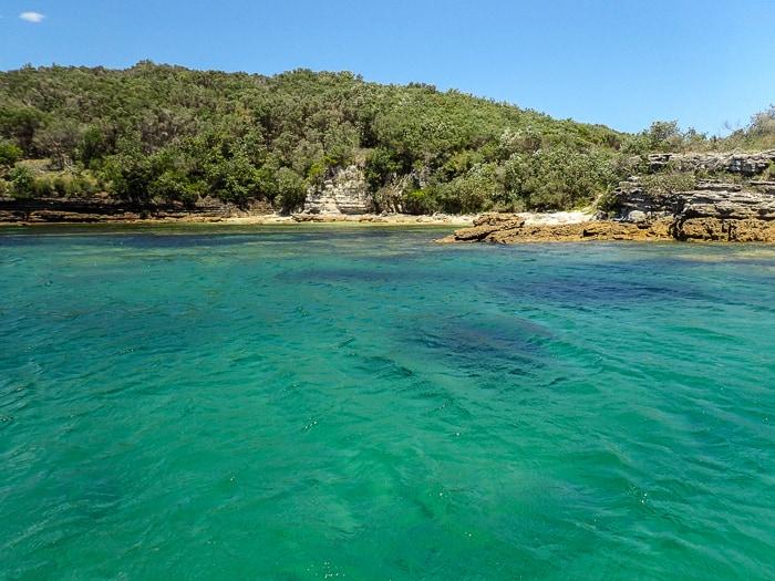 jervis bay snorkel trip by boat