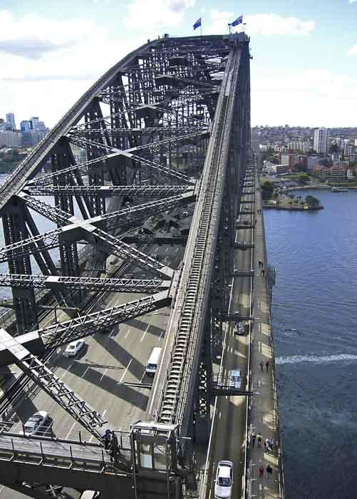 Sydney Harbour Bridge stroller walk