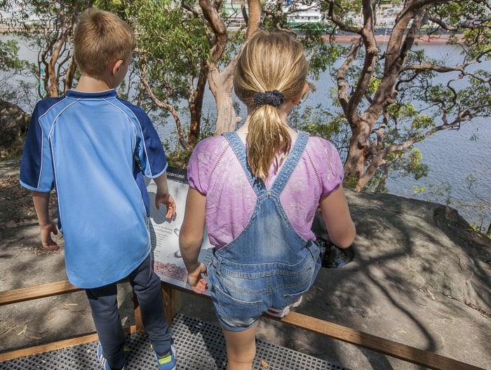 Berry Island Reserve walk family_3