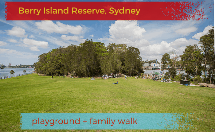 Berry island reserve playground sydney