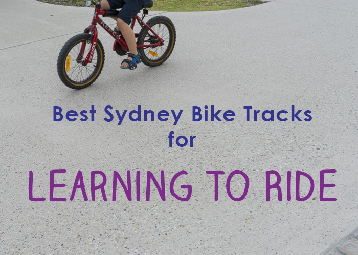 The Best Kids Bike Tracks In Sydney For Learners