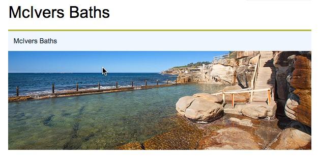 McIvers Baths
