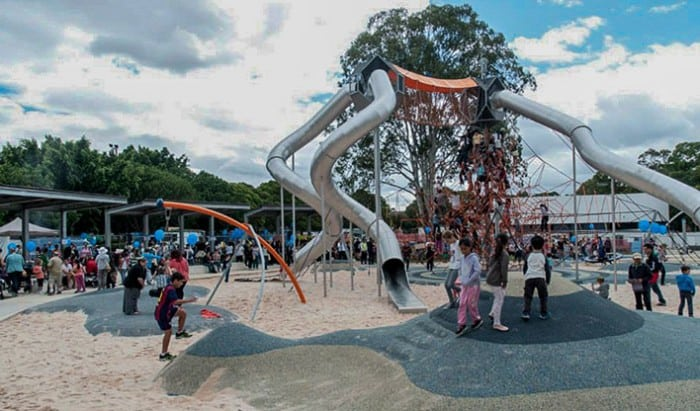 Fairfield-Adventure-Park best playgrounds in Sydney