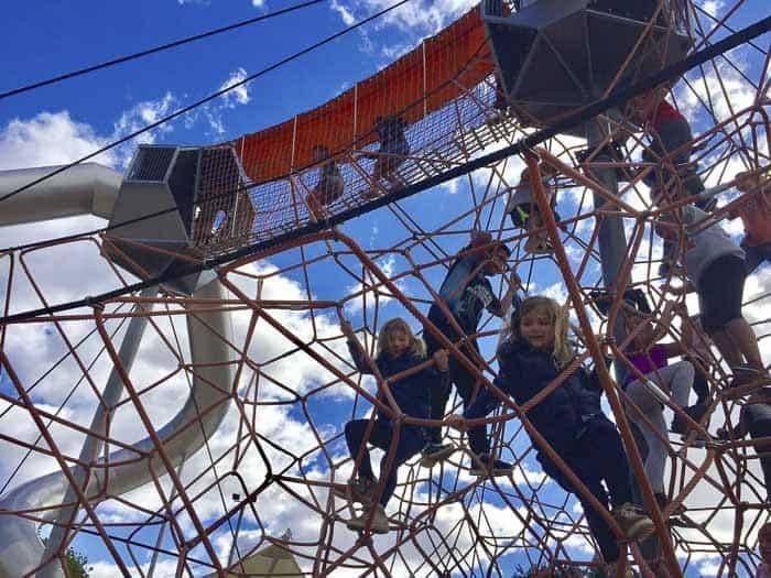 Fairfield Adventure Park climbing