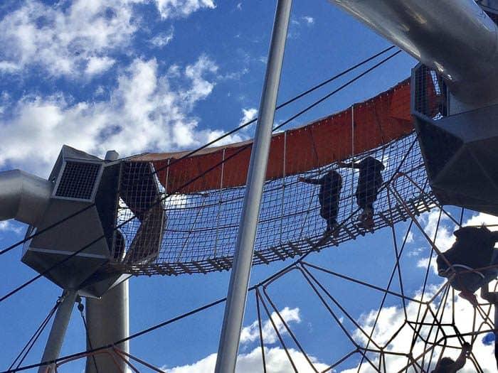 Fairfield adventure park climbing frame