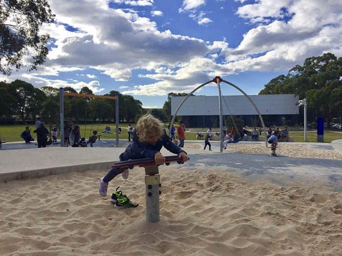 Fairfield adventure park play