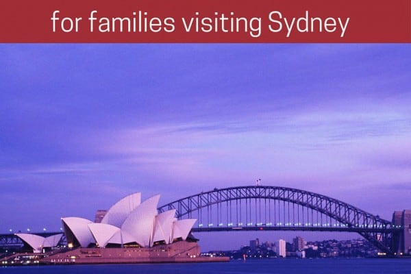 20 things to do in Sydney families