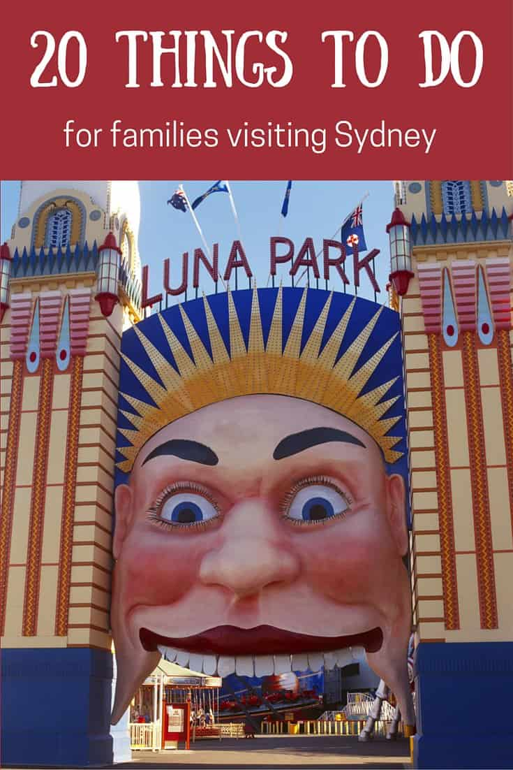 Sydney things to do top 20 families kids