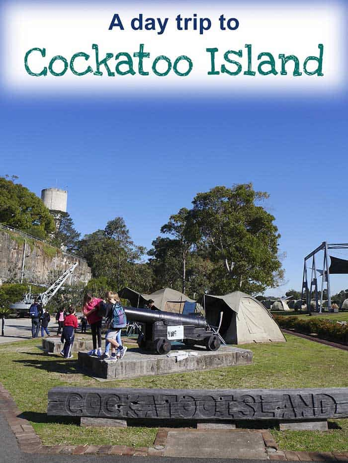 Cockatoo Island family day trip