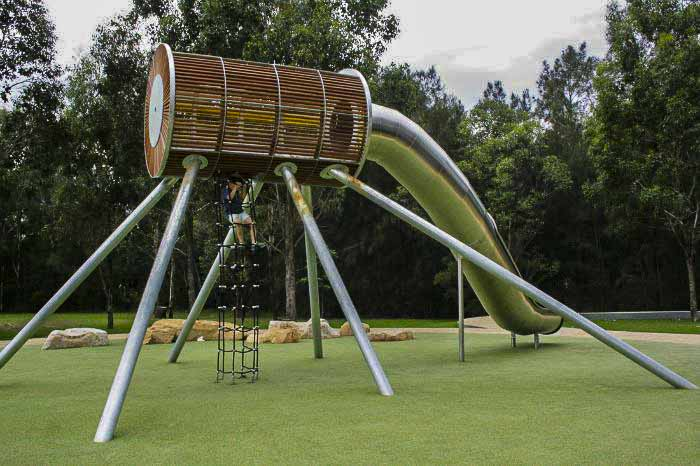 Domain Creek playground at Parramatta Park