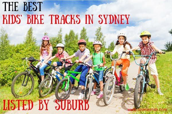 holiday activities sydney bike tracks list