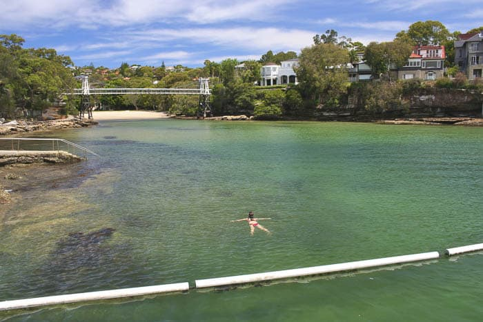 sydney best beaches harbour pools parsley bay