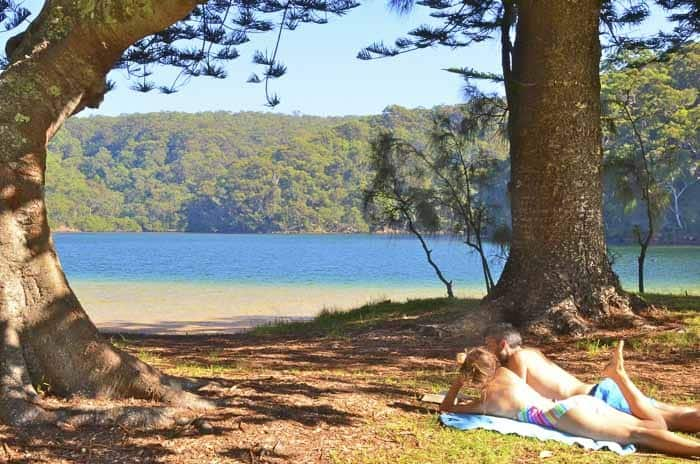 2 - The Basin, Pittwater wild swimming in Sydney